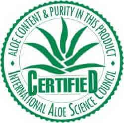 International Aloe Science Council Seal
