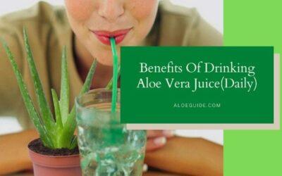 8 Amazing Health Benefits Drinking Aloe Vera Juice (Daily!)