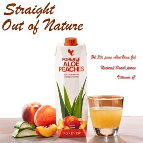 Forever Aloe Bits N Peaches