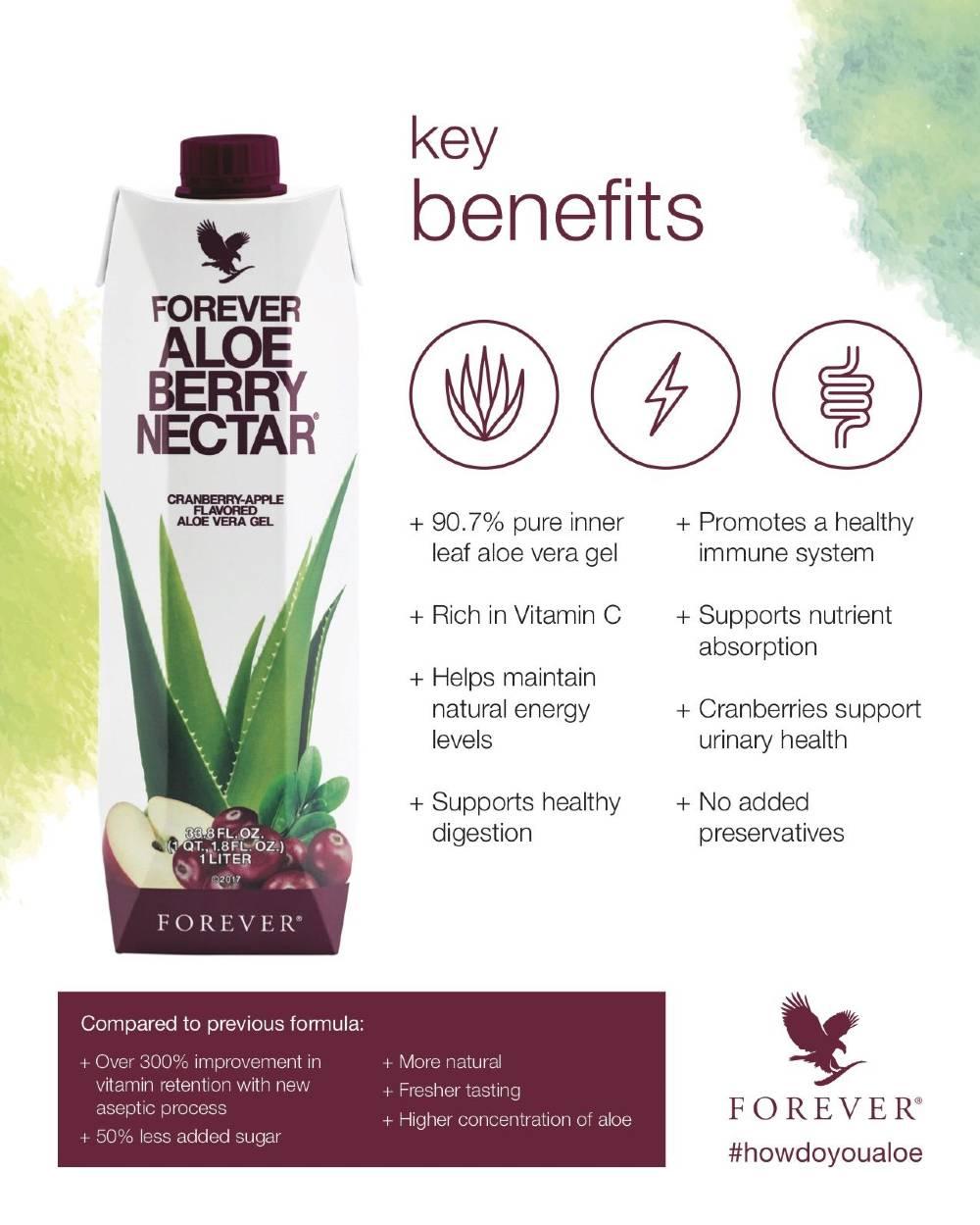 Forever Aloe Berry Nectar Benefits