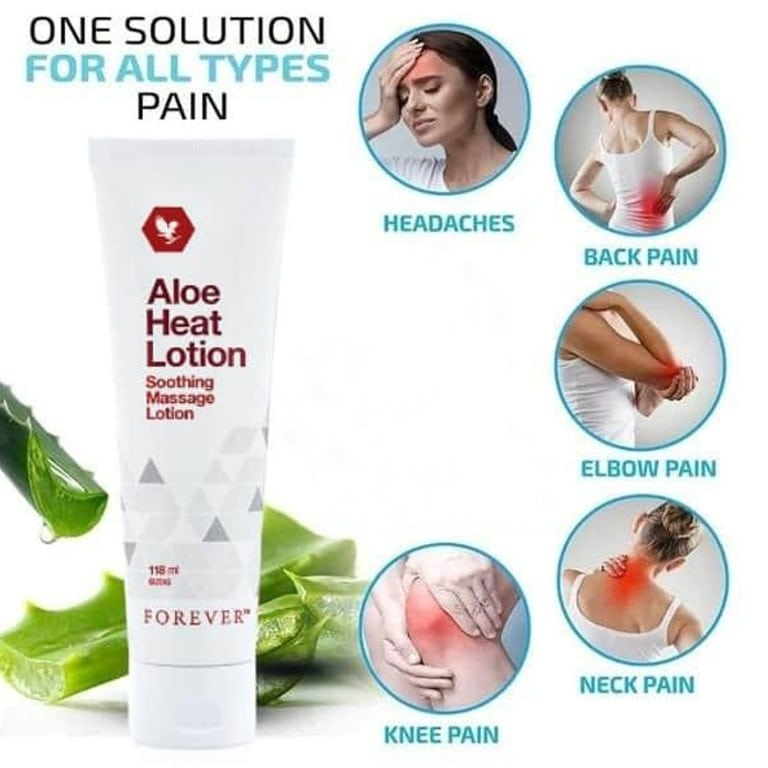 Aloe Heat Lotion Benefits