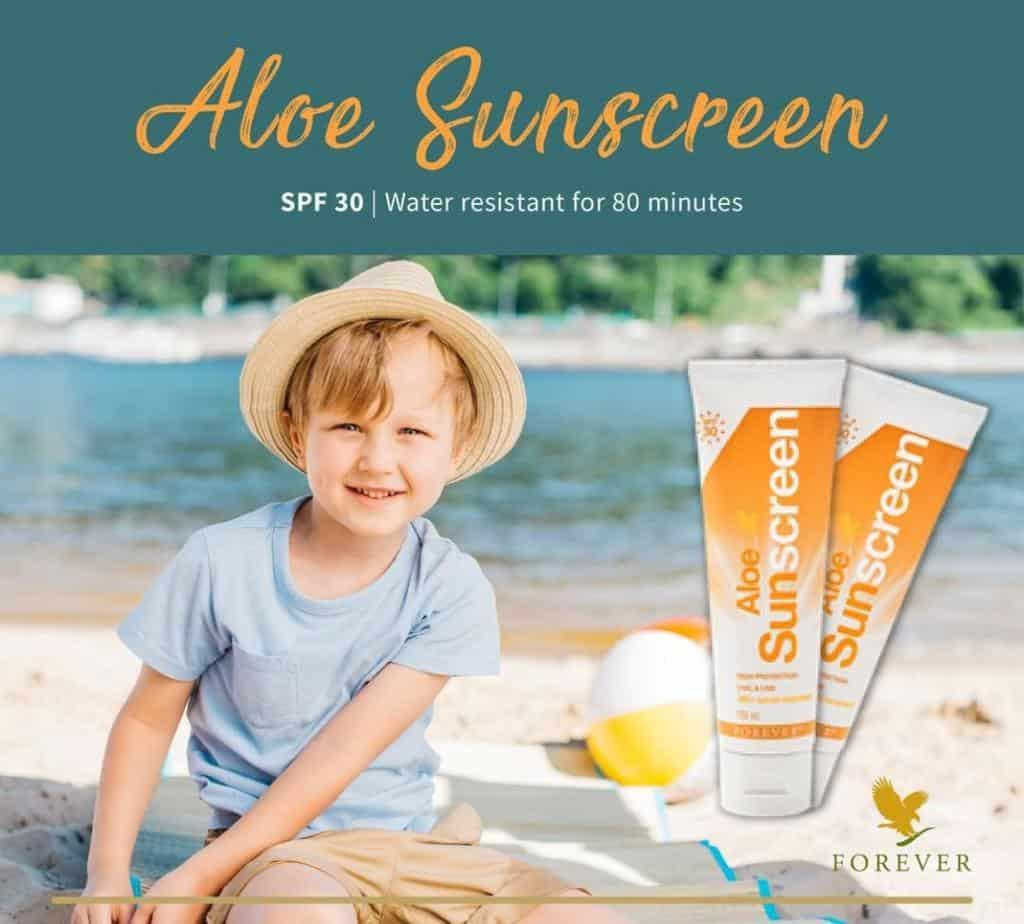 Aloe Sunscreen SPF30