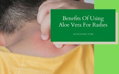 Best Guide Using Aloe Vera For Rashes [2021]