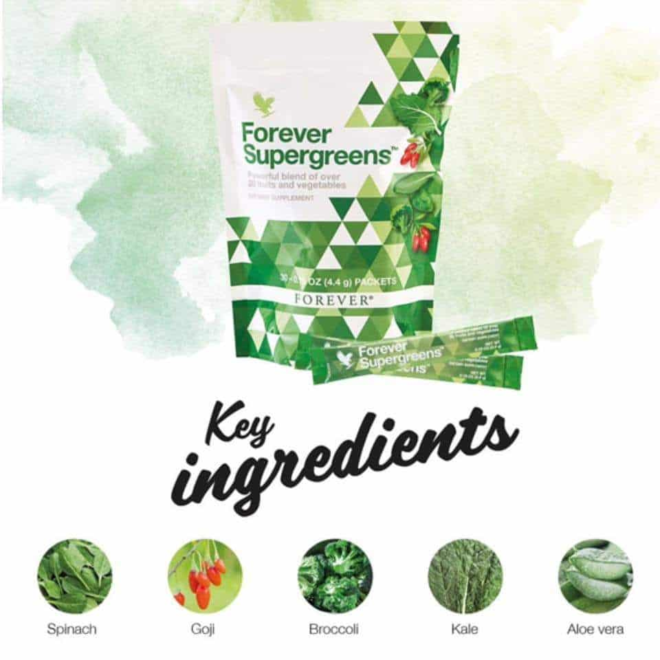 Supergreens Ingredients