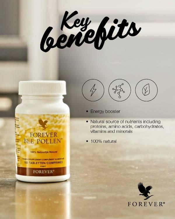 Bee Pollen Key Benefits