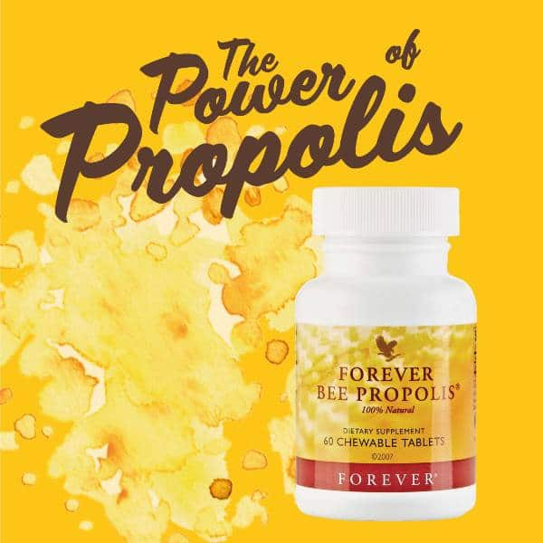 The power of Forever Bee Propolis