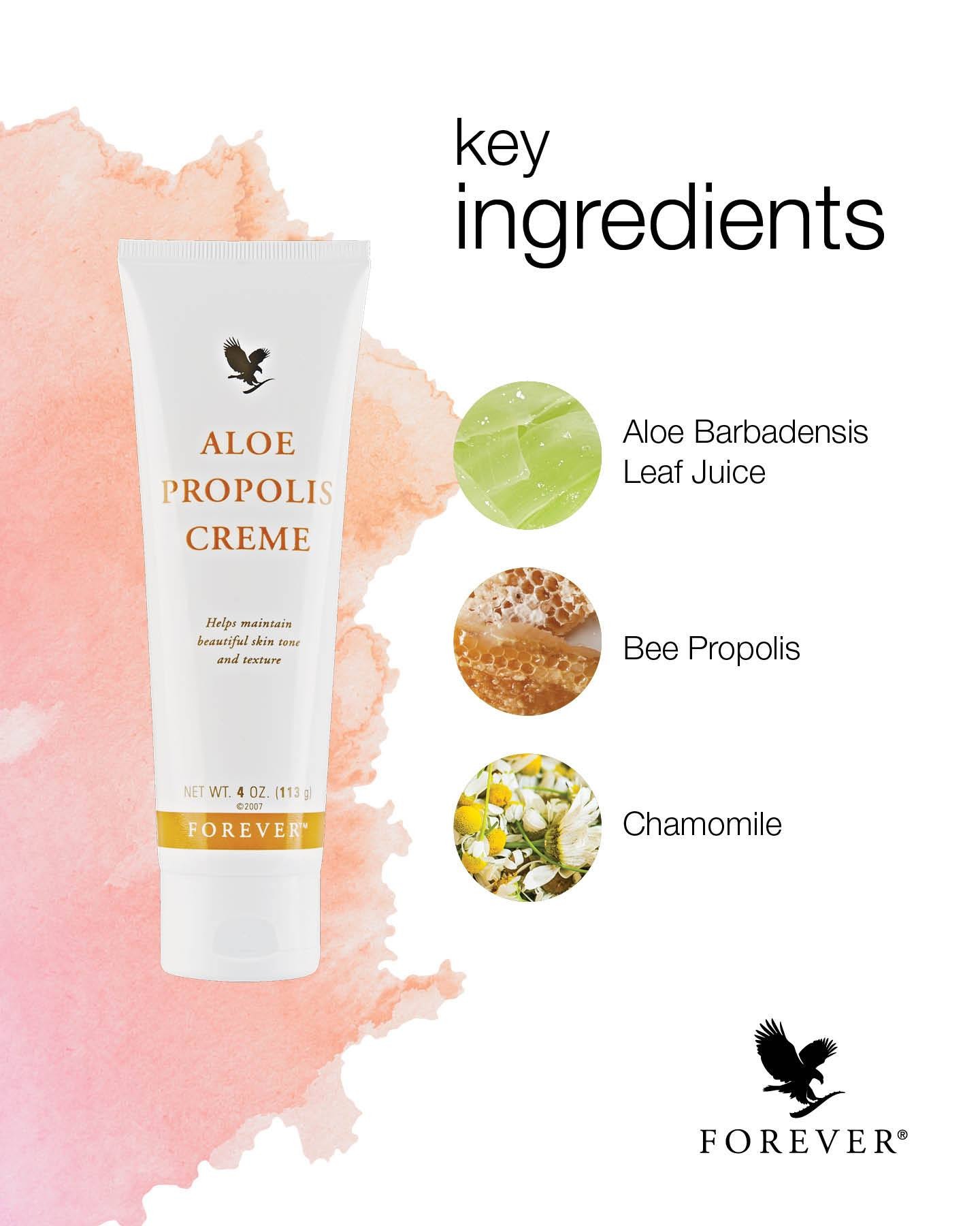 Aloe Propolis Creme Ingredients