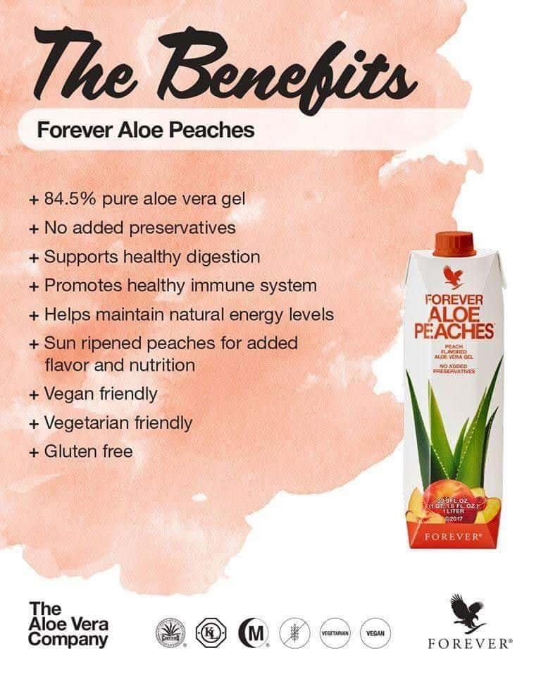 Forever Aloe Peaches Benefits
