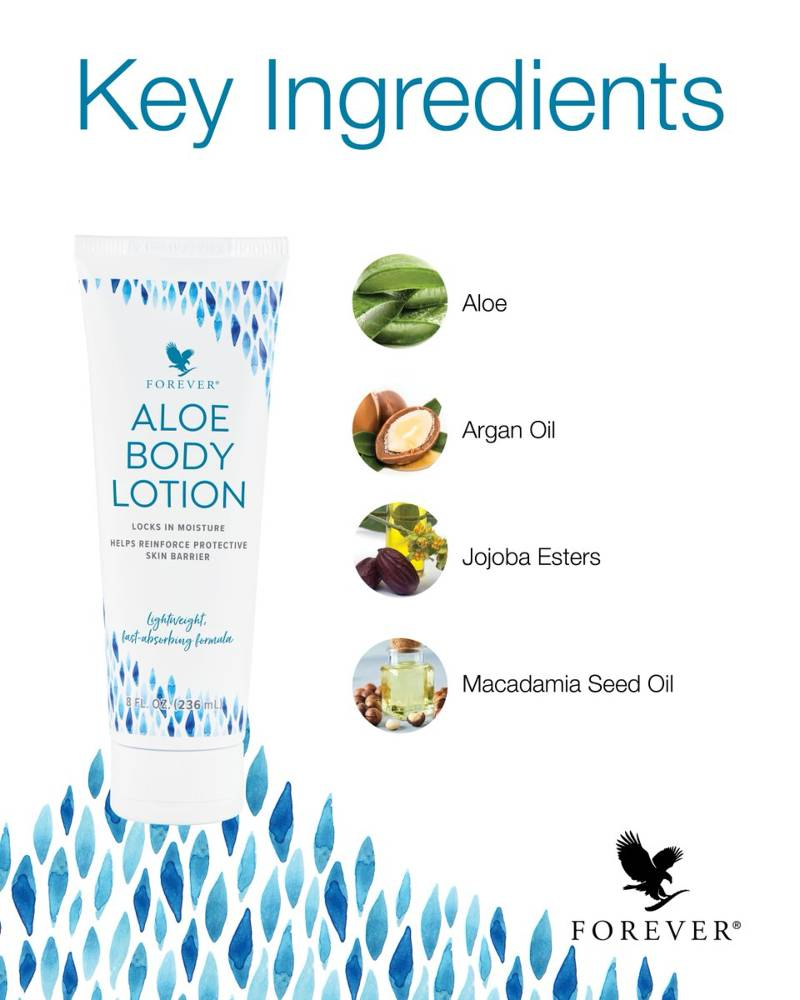 Forever Aloe Body Lotion Ingredients
