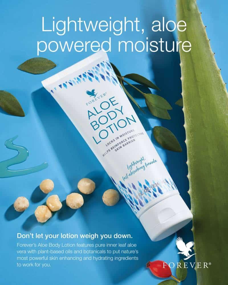 Forever Aloe Body Lotion Summary