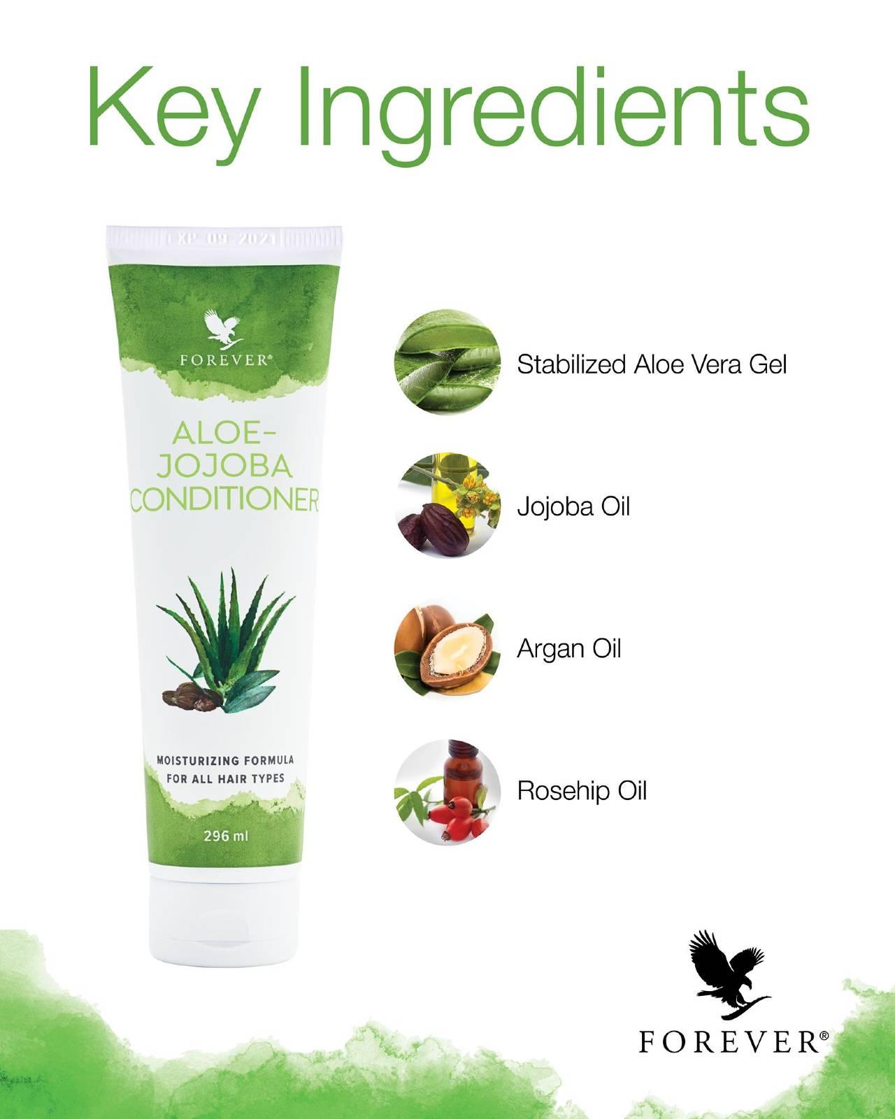 Aloe Jojoba Conditioner Ingredients